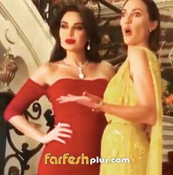 """بالفيديو.. مريم اوزرلي مع سيرين عبدالنور: """"ما هذه القنبلة؟!"""" صورة رقم 1"""