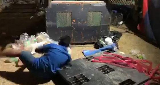 فيديو صادم.. متعة الملاهي تحولت إلى كارثة مرعبة في لحظة! صورة رقم 4