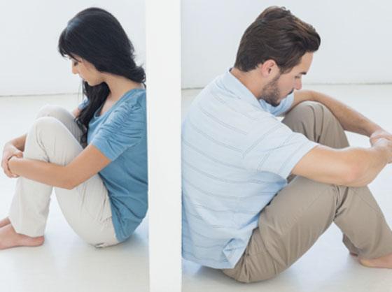 صورة رقم 1 -  5 علامات تدل على انتهاء علاقتك مع زوجك
