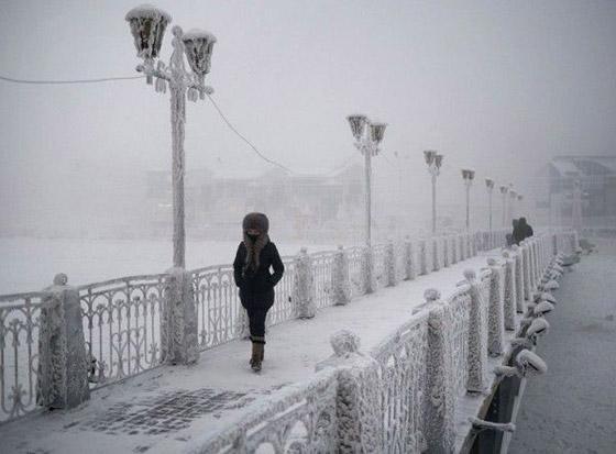 ما هي أبرد مدينة على كوكب الأرض وأين تقع؟ صورة رقم 11