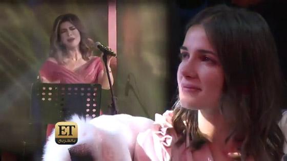 شاهدوا.. بكاء شام الذهبي ابنة أصالة بعد انفصال والدتها  صورة رقم 2