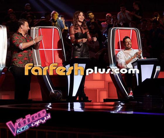 صورة رقم 12 - ذا فويس كيدز: نانسي تلعب مصارعة مع هشام اليمني وحماقي يعزف الجيتار