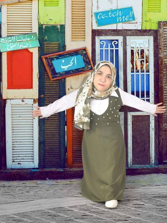 فيديو وصور نسمه يحيى: مصرية أول عارضة أزياء من قصار القامة صورة رقم 2