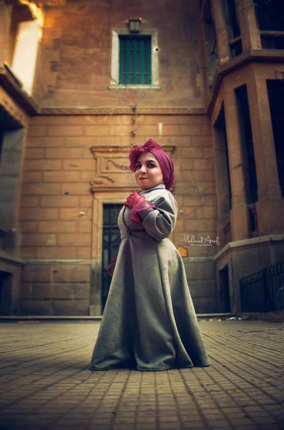 فيديو وصور نسمه يحيى: مصرية أول عارضة أزياء من قصار القامة صورة رقم 13