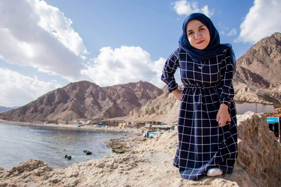 فيديو وصور نسمه يحيى: مصرية أول عارضة أزياء من قصار القامة صورة رقم 7