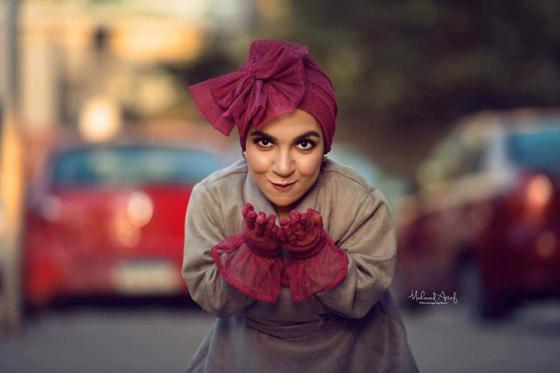 فيديو وصور نسمه يحيى: مصرية أول عارضة أزياء من قصار القامة صورة رقم 16