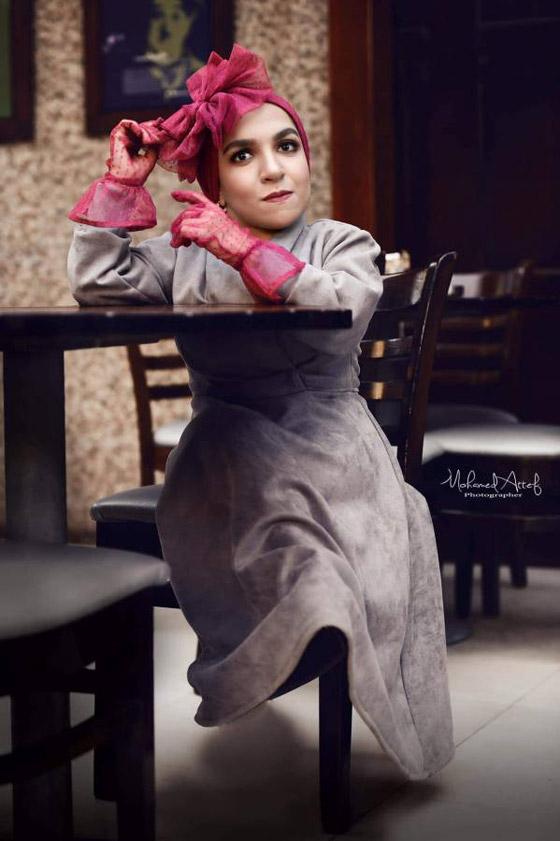 فيديو وصور نسمه يحيى: مصرية أول عارضة أزياء من قصار القامة صورة رقم 21