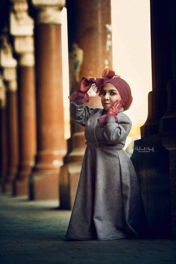 فيديو وصور نسمه يحيى: مصرية أول عارضة أزياء من قصار القامة صورة رقم 24