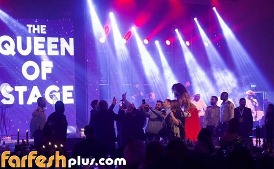 صورة رقم 5 - فيديو ميريام فارس في تحدي رقص شرقي مع معجبيها في الامارات