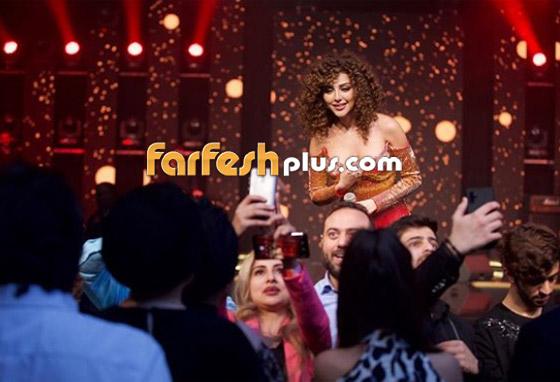 صورة رقم 6 - فيديو ميريام فارس في تحدي رقص شرقي مع معجبيها في الامارات