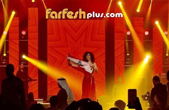صورة رقم 8 - فيديو ميريام فارس في تحدي رقص شرقي مع معجبيها في الامارات