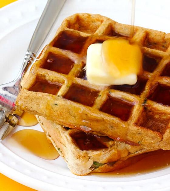 صورة رقم 8 - إليكم طريقة تحضير وافل الكوسا لفطور صباحي صحي ولذيذ خفيف