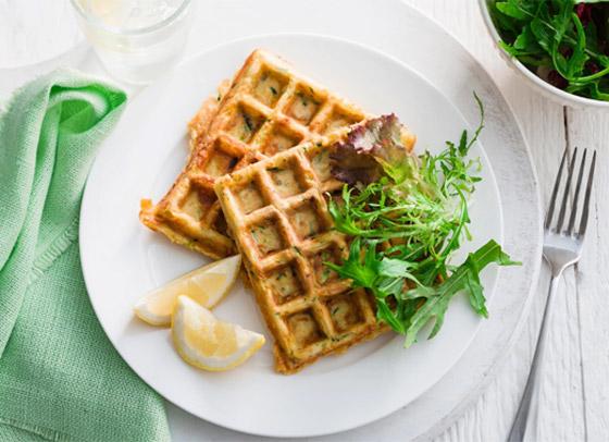 صورة رقم 12 - إليكم طريقة تحضير وافل الكوسا لفطور صباحي صحي ولذيذ خفيف