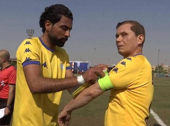 صورة رقم 6 - المصري عز الدين بهادر: أكبر لاعب كرة قدم محترف في العالم