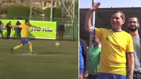 صورة رقم 2 - المصري عز الدين بهادر: أكبر لاعب كرة قدم محترف في العالم