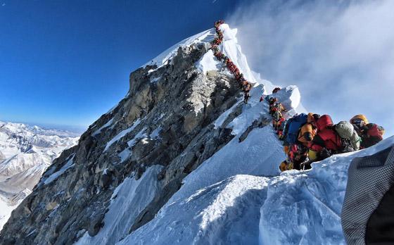 قمة صخرية رسوبية.. جبل إفرست أعلى قمة في العالم! صور صورة رقم 6
