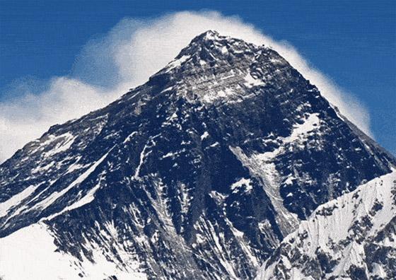 قمة صخرية رسوبية.. جبل إفرست أعلى قمة في العالم! صور صورة رقم 8