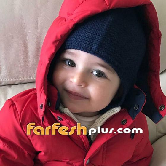 صورة ابن ميريام فارس لأول مرة.. نسخة طبق الأصل عن والدته! صورة رقم 2