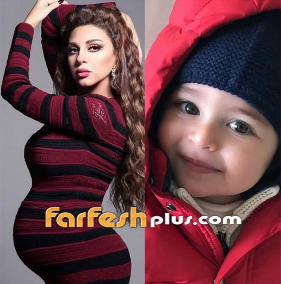 صورة ابن ميريام فارس لأول مرة.. نسخة طبق الأصل عن والدته! صورة رقم 1