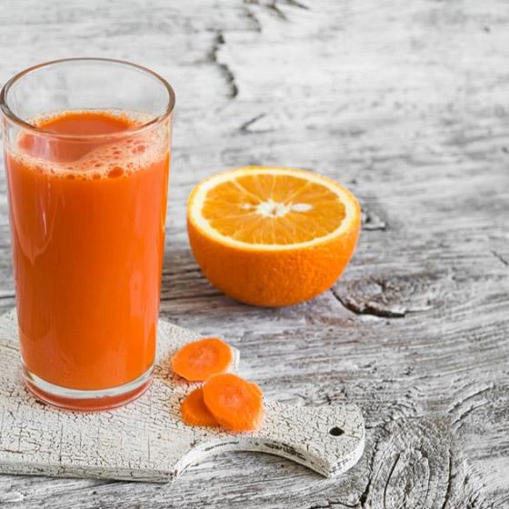 فوائد شرب عصير البرتقال والجزر خلال الحجر المنزلي صورة رقم 1