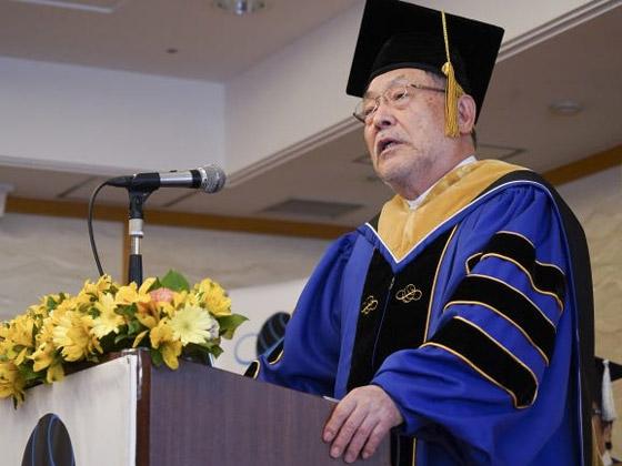 صورة رقم 8 - صور: حفل تخرج افتراضي ذكي لطلاب جامعة يابانية بسبب فيروس كورونا