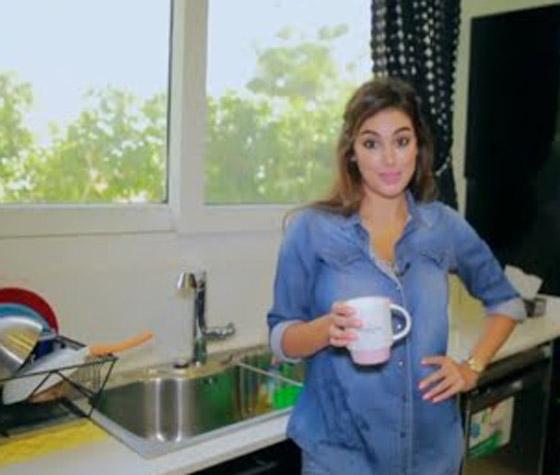 بعد عقد قرانها..شاهد جولة في منزل ياسمين صبري الفخم (فيديو) صورة رقم 2