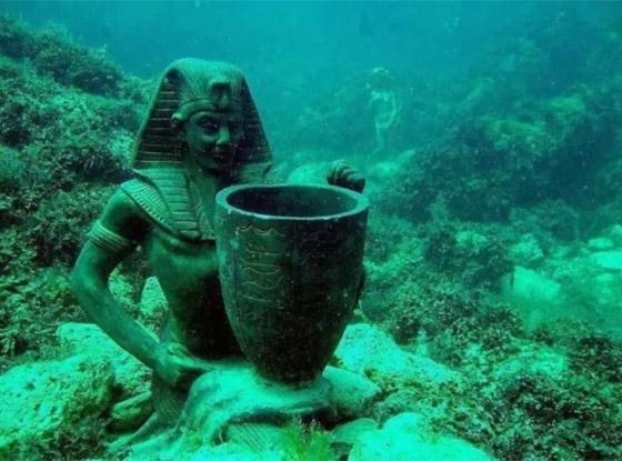 بالصور: تعرفوا إلى أشهر 10 مدن تحت الماء فقدت من العالم القديم صورة رقم 1