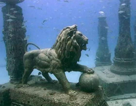 بالصور: تعرفوا إلى أشهر 10 مدن تحت الماء فقدت من العالم القديم صورة رقم 4