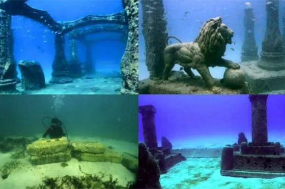 بالصور: تعرفوا إلى أشهر 10 مدن تحت الماء فقدت من العالم القديم صورة رقم 10