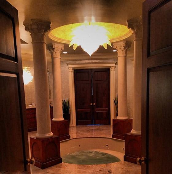 جولة داخل قصر الأمير هاري وميغان ماركل في لوس أنجلوس صورة رقم 4