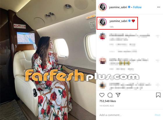 صور ياسمين صبري زوجة أحمد أبو هشيمة في طائرتها الخاصة صورة رقم 1