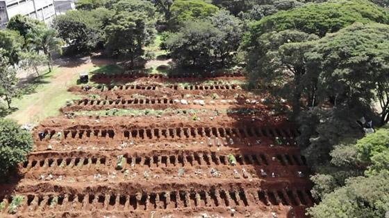 صفوف من المقابر المفتوحة.. البرازيل ثاني أكبر بؤرة كورونا! صورة رقم 10