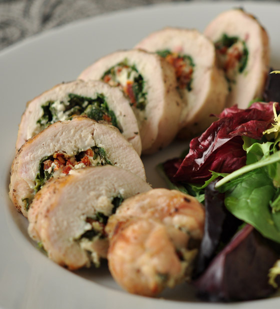 طريقة تحضير رولات الدجاج بالسبانخ والجبن للرجيم بطعم شهي ومميز صورة رقم 12