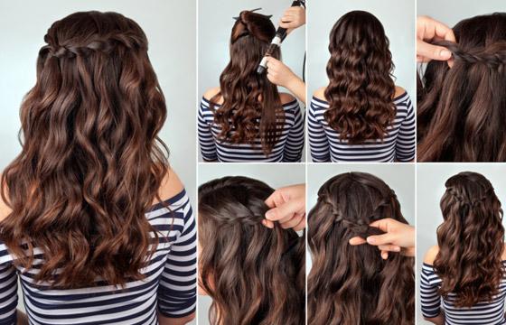 شعر متطاير بإطلالات مختلفة كل يوم.. 10 أفكار لتسريحات الشعر المنسدل صورة رقم 1
