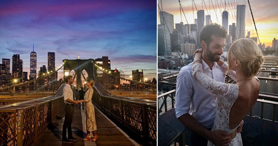 عابرة سبيل تخلد ذكرى زفاف زوجين في صورة نالت التعاطف والإعجاب! صورة رقم 3