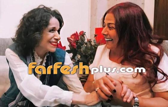 معايدة نادرة بعيد الأضحى من صباح الجزائري وشقيقتها سامية الجزائري صورة رقم 9