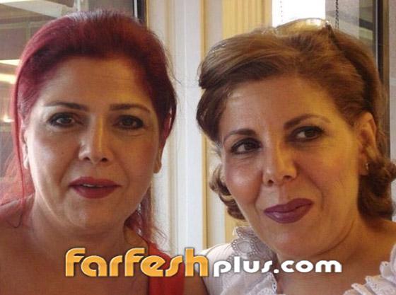 معايدة نادرة بعيد الأضحى من صباح الجزائري وشقيقتها سامية الجزائري صورة رقم 6