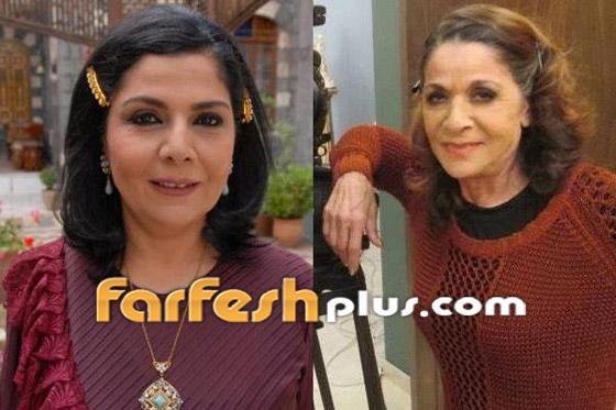معايدة نادرة بعيد الأضحى من صباح الجزائري وشقيقتها سامية الجزائري صورة رقم 7