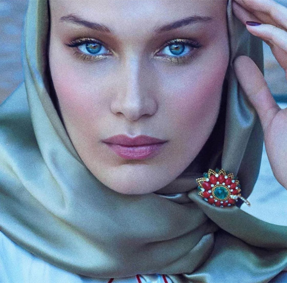 صورة رقم 10 - صور: بيلا حديد تعبر من جديد عن حبها لوطنها فلسطين