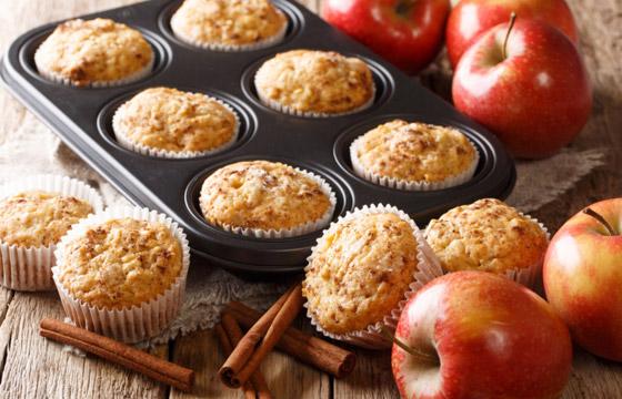 صورة رقم 1 - فطائر المافن بالتفاح.. وصفة لذيذة سريعة التحضير ومميزة للسحور