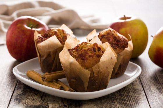 صورة رقم 2 - فطائر المافن بالتفاح.. وصفة لذيذة سريعة التحضير ومميزة للسحور