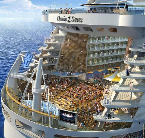 أعجوبة البحر جاهزة.. أكبر سفينة سياحية في العالم تستعد للإبحار صورة رقم 3