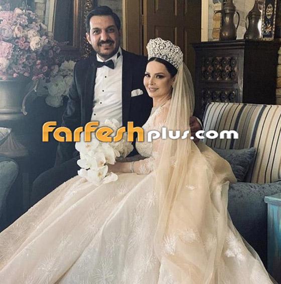 صور وفيديو ديانا كرزون بفستان الفرح ليلة زفافها والأمن يستدعي العريس! صورة رقم 1