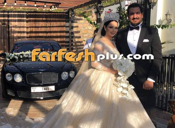 صور وفيديو ديانا كرزون بفستان الفرح ليلة زفافها والأمن يستدعي العريس! صورة رقم 2
