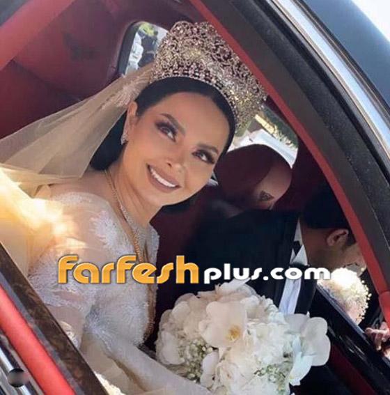 صور وفيديو ديانا كرزون بفستان الفرح ليلة زفافها والأمن يستدعي العريس! صورة رقم 3