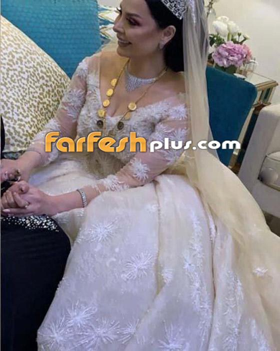 صور وفيديو ديانا كرزون بفستان الفرح ليلة زفافها والأمن يستدعي العريس! صورة رقم 4