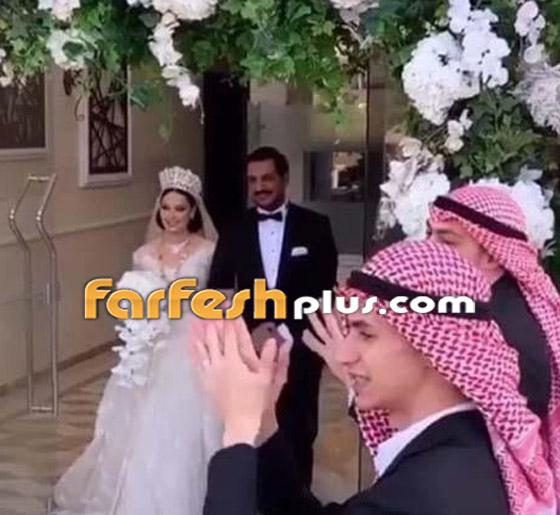 صور وفيديو ديانا كرزون بفستان الفرح ليلة زفافها والأمن يستدعي العريس! صورة رقم 5