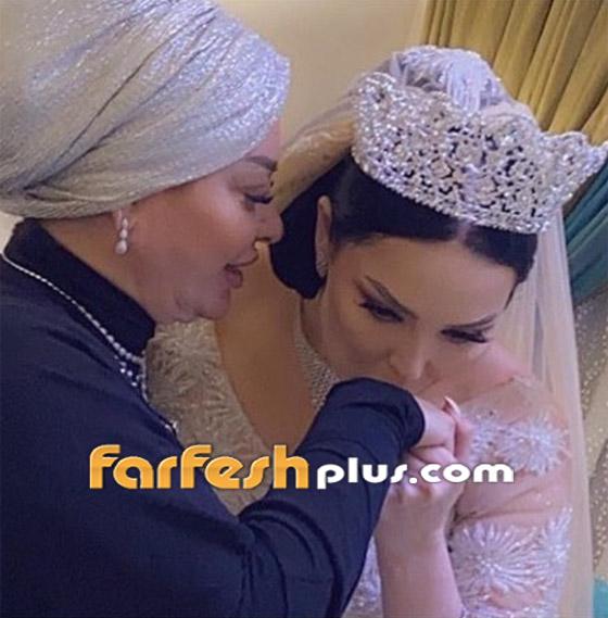 صور وفيديو ديانا كرزون بفستان الفرح ليلة زفافها والأمن يستدعي العريس! صورة رقم 11