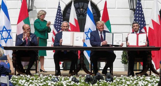 رسميا.. الإمارات والبحرين توقعان معاهدة السلام التاريخية مع إسرائيل صورة رقم 12