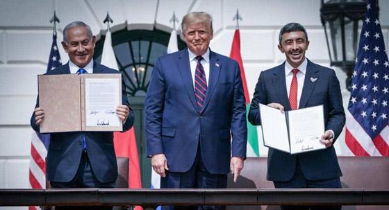 رسميا.. الإمارات والبحرين توقعان معاهدة السلام التاريخية مع إسرائيل صورة رقم 11